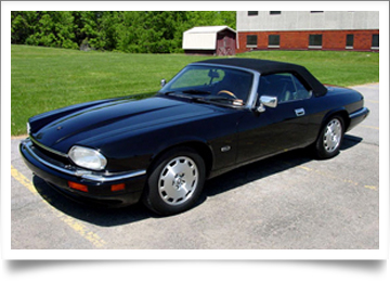 Jaguar XJS Convertible Top