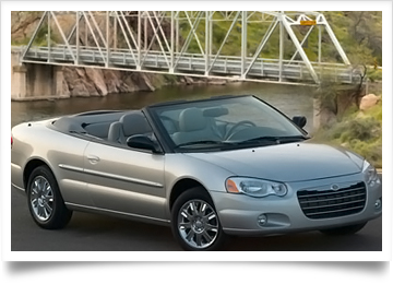 Chrysler Sebring Convertible Top
