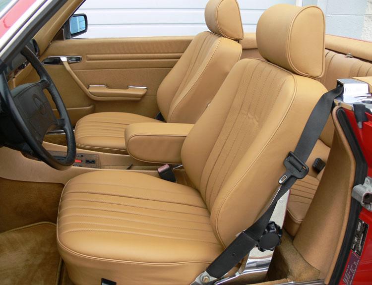 mercedes sl roadster seat kits. Black Bedroom Furniture Sets. Home Design Ideas