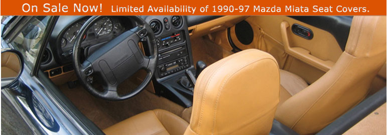Mazda Miata Seat Kit Replacement Seat Covers For The