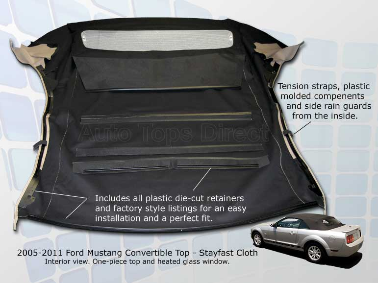 AutoTopsDirect Mustang Convertible Top