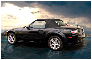 2006 MX5 with an AutoTopsDirect.com replacement top installed.