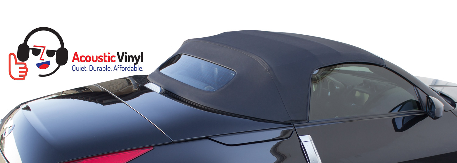 Trilogy Acoustic Vinyl Top on Nissan 350Z