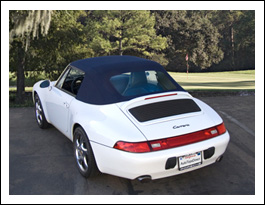 AutoTopsDirect.com Porsche 993 Convertible Top