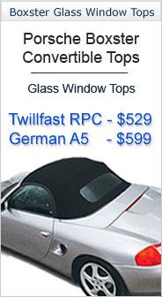 1997-2002 Porsche Convertible Tops