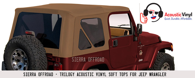 Sierra Offroad for Great Fitting Jeep Soft Tops