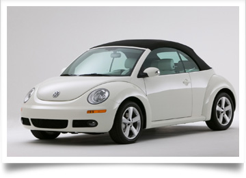 Volkswagen New Beetle Convertible Tops