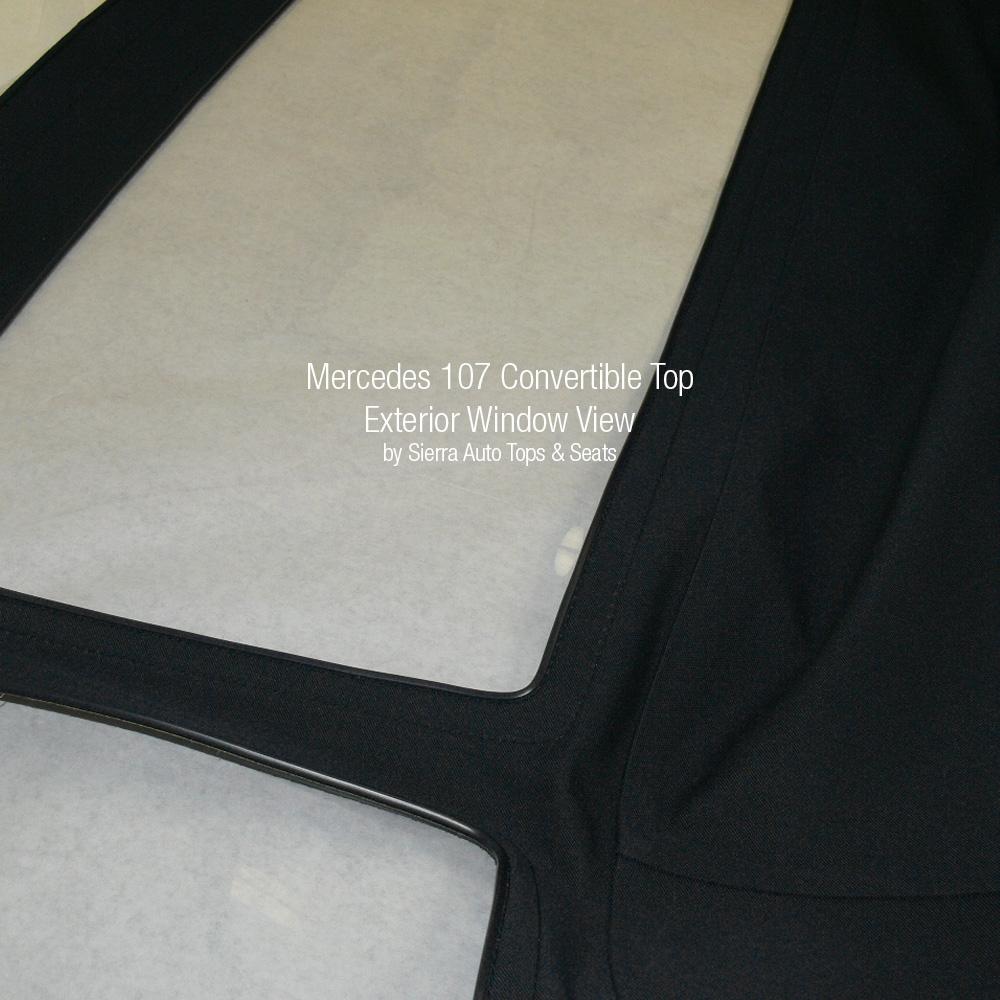 380sl convertible top instructions