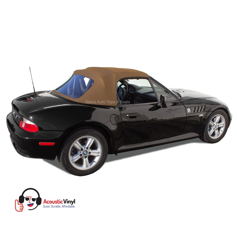 Bmw Z3 Top: BMW Z3 Convertible Top In Saddle Vinyl With Plastic Window