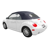 VV Beetle Convertible Top, German A5, Titan Grey