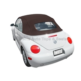 VW Beetle Convertible Top, Stayfast,Dark Gray