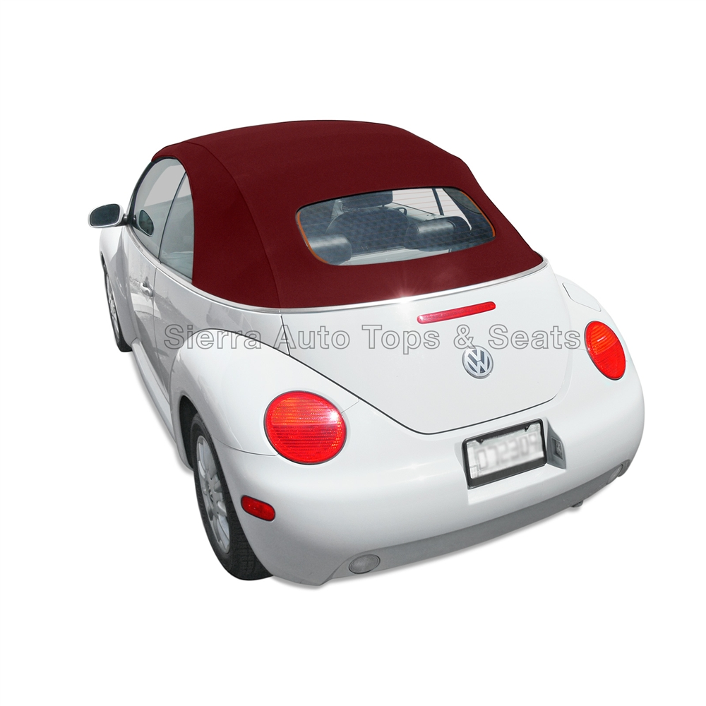 2004 Volkswagen New Beetle Convertible: VW Beetle Convertible Top, Stayfast In Burgundy For Power