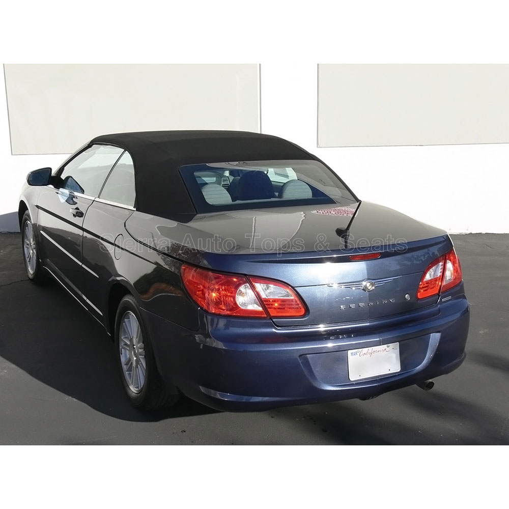 Chrysler Sebring Convertible Top 2008-11 In Black