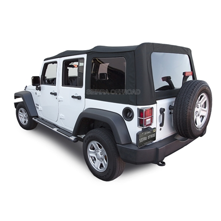 2010 2017 Sierra Replacement Top Jeep Soft Top