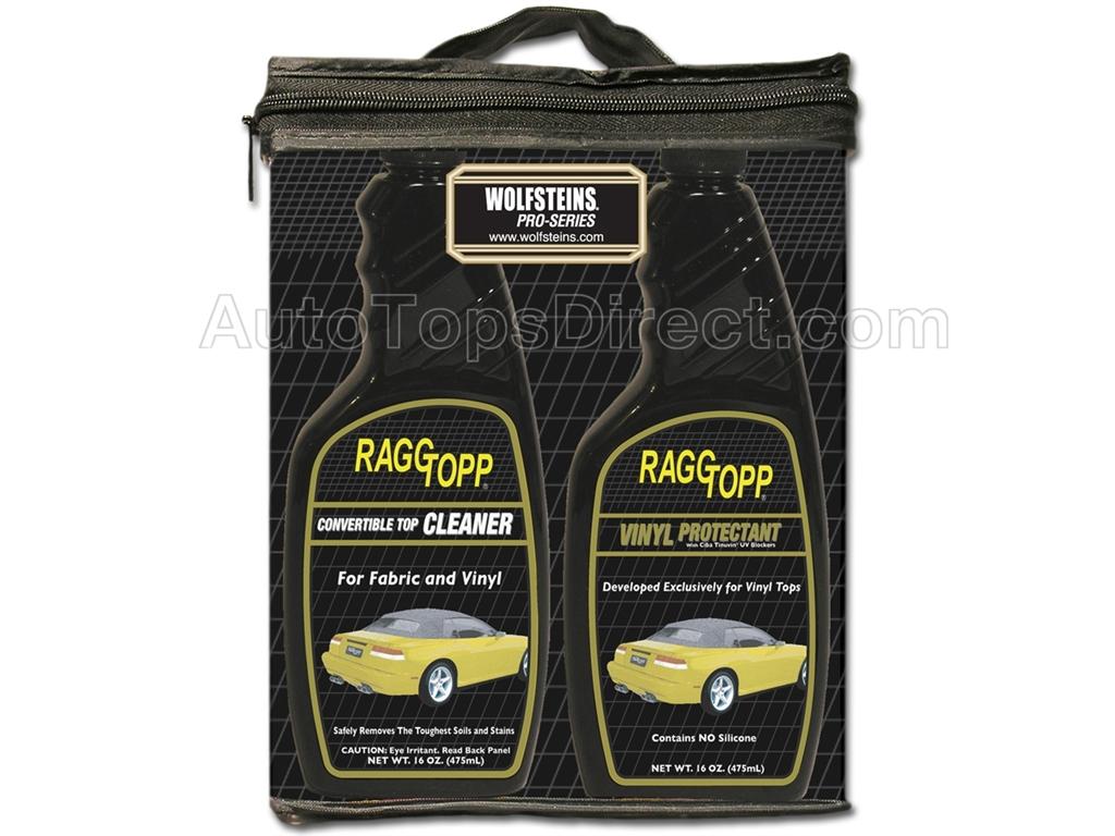 Ragg Topp Cleaner Vinyl Protectant Set