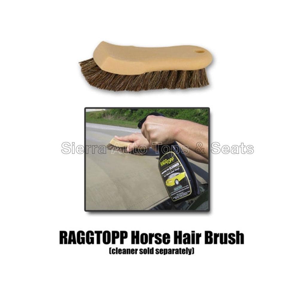 Raggtopp natural horse hair brusch - Natural horse hair interior upholstery brush ...