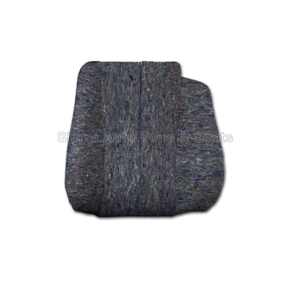 Mercedes benz sl roadster seat back cushion top for Mercedes benz car seat cushion