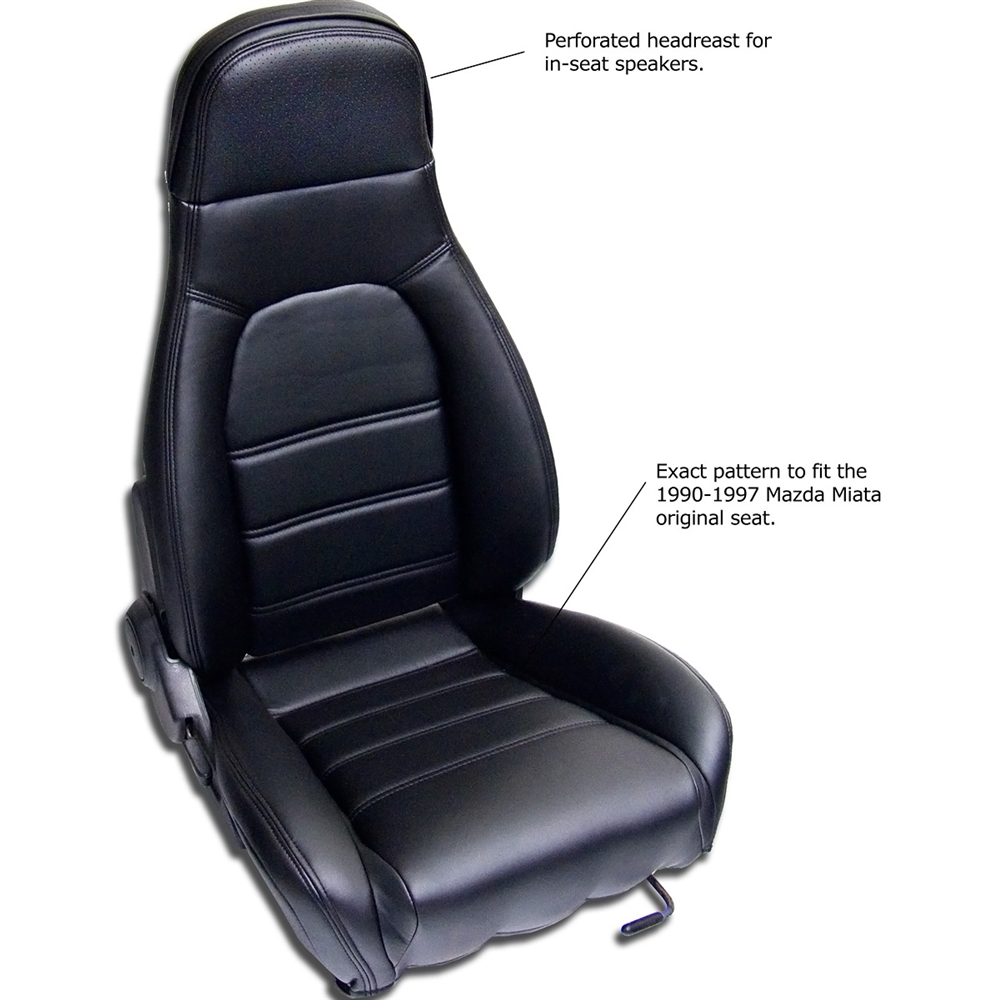 mazda miata seat kit replacement seat covers for the 1990 1996 miata these are replacement. Black Bedroom Furniture Sets. Home Design Ideas