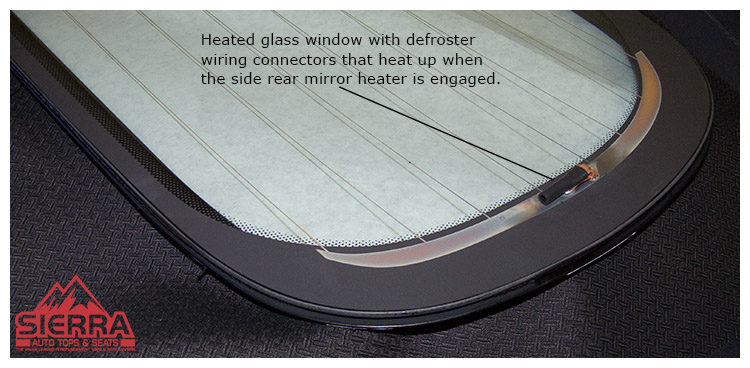 Boxster Glass Window