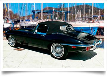 jaguar e type xke 1961 1971 convertible tops auto tops. Black Bedroom Furniture Sets. Home Design Ideas