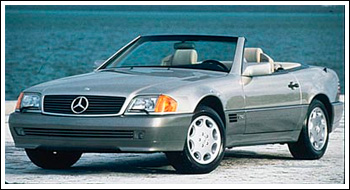 Mercedes Benz 300 600sl Convertible Top Replacement