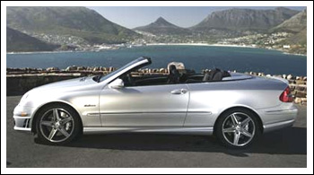 Mercedes CLK Convertible Tops