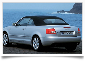 Audi A4 S4 Convertible Top Replacement