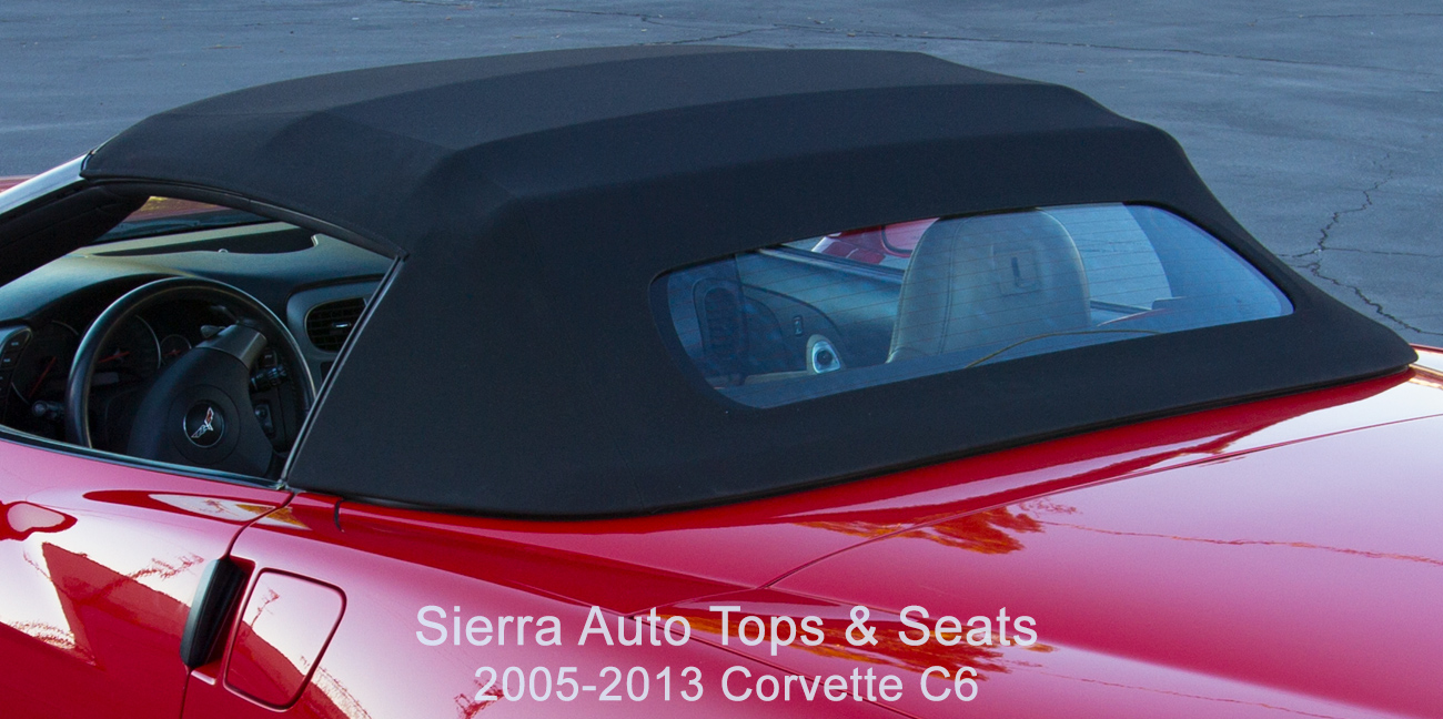 Sierra Auto Tops Corvette C6 convertible top