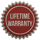 Lifetime Warranty on Glass Window Bond
