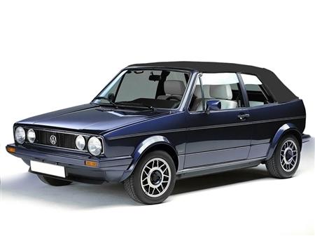 Vw Cabrio Golf 1980 1993 Black Convertible Soft Top