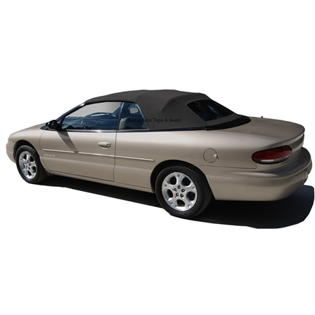 Chrysler Sebring Convertible Top Black Twillfast Amp Glass