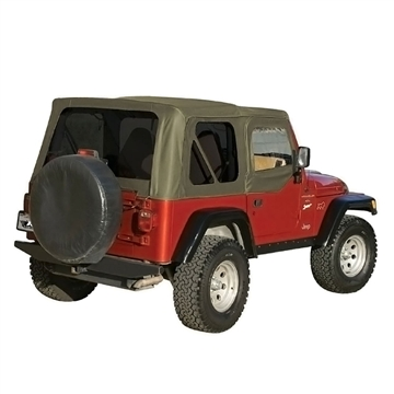 Jeep Soft Top Oem Replacement W Door Skins 1997 2006